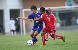 Giải U14 Đông Nam Á: Thắng tối thiểu Campuchia, Thái Lan giữ vững ngôi đầu bảng A