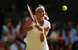 Vòng 3 Wimbledon: ĐKVĐ Kvitova chia tay giải, Brown không thể gây bất ngờ