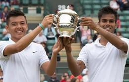 Lý Hoàng Nam rạng rỡ cùng Djokovic, Serena Williams trong bữa tiệc dành cho nhà vô địch Wimbledon 2015