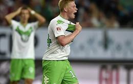 Giành Siêu cúp Đức, Wolfsburg tự tin giữ luôn Kevin De Bruyne
