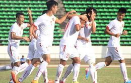 19h00 ngày 27/8, U19 Việt Nam - U19 Malaysia (Bảng B giải VĐ U19 ĐNÁ 2015)