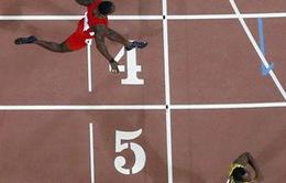 """""""Tia chớp"""" Usain Bolt lần thứ 4 liên tiếp đoạt HCV thế giới 200m"""