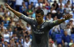 """Ghi """"poker"""" vào lưới Espanyol, Ronaldo lại có kỉ lục mới"""