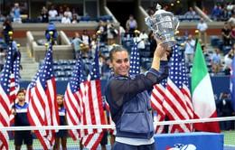 US Open 2015: Vượt qua tay vợt đồng hương, Pennetta lần đầu giành ngôi vô địch!
