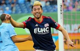 Lee Nguyễn làm lu mờ Lampard, Villa trong trận thắng của New England Revolution