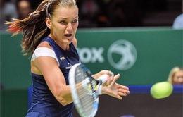 Bảng đỏ WTA Finals: Halep đánh rơi vé, Sharapova cùng Radwanska tiến vào bán kết