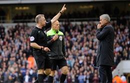 FA bác đơn kháng án, Mourinho sẽ bị cấm chỉ đạo trận gặp Stoke City