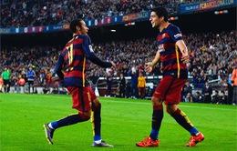 Neymar - Suarez tỏa sáng, Barca thắng đậm Villarreal