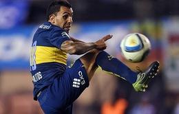 Thêm Tevez chấn thương, Argentina khủng hoảng hàng công trước trận gặp Brazil