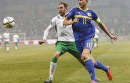 [HIGHLIGHT] Bosnia 1-1 CH Ailen: Dzeko giải cứu Bosnia