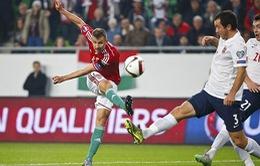 [Play-off Euro 2016] Vượt qua Na Uy, Hungary giành vé tham dự Euro 2016