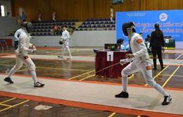 Hà Nội bội thu HCV tại giải đấu kiếm vô địch quốc gia 2015