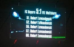 Lewandowski nhận 4 kỉ lục Guinness cho kỳ tích 5 bàn trong... 9 phút