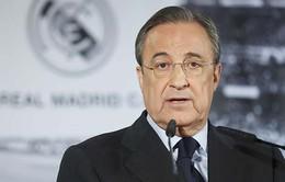 Chủ tịch Florentino Perez tự tin Real sẽ thoát án phạt