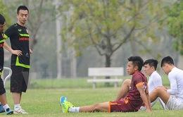 Tình hình chấn thương của U23 Việt Nam: Hồng Duy lại góp mặt
