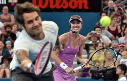 Roger Federer đánh cặp cùng Martina Hingis tại Olympic Rio