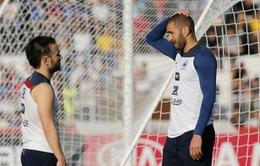 Benzema muốn được đối chất với Valbuena tại tòa
