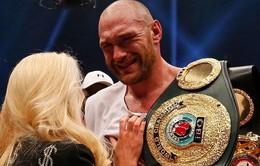 Tyson Fury bị tước danh hiệu IBF