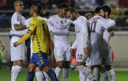 Real Madrid sống lại cơ hội đi tiếp ở Cúp Nhà vua Tây Ban Nha