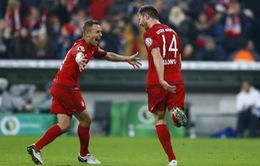 Vòng 1/8 cúp Quốc gia Đức: Bayern chật vật vượt qua Darmstadt