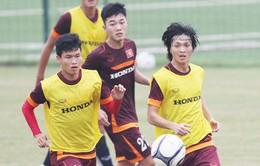 ĐT U23 QG: Xuân Trường, Tuấn Anh, Duy Mạnh sẵn sàng trở lại, Hữu Dũng vẫn ở chế độ chờ
