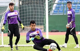U23 Việt Nam: HLV Miura chọn ai cho vị trí thủ môn?