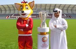 Chủ nhà Qatar công bố linh vật VCK U23 châu Á 2016