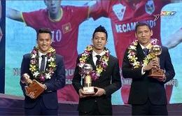 [KT] Lễ trao giải Quả bóng Vàng Việt Nam 2015: Anh Đức giành QBV 2015