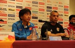 Họp báo trước lượt trận khai màn bảng D giải U23 châu Á 2016: HLV Miura đặt mục tiêu vào tứ kết