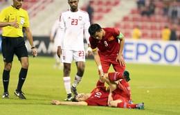 Công Phượng gặp chấn thương nặng trong trận đấu với U23 UAE