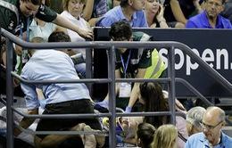 Ana Ivanovic sốc vì tai nạn trên khán đài Australia Mở Rộng 2016