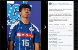 CLB Mito Hollyhock tiếp tục ưu đãi đặc biệt với Công Phượng