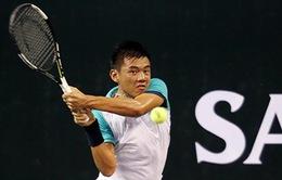 Lý Hoàng Nam dừng bước tại tứ kết giải quần vợt China F1 Futures