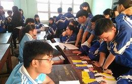 Cựu học sinh về trường cũ tư vấn hướng nghiệp cho học sinh