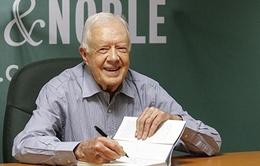 Grammy 2016: Cựu Tổng thống Mỹ Jimmy Carter đoạt giải Grammy thứ 2