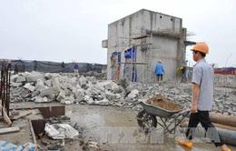 HÌNH ẢNH hiện trường vụ cưỡng chế phá dỡ tại tòa nhà 8B Lê Trực