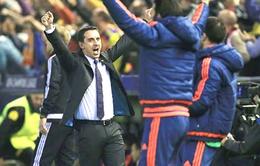 02h30 ngày 07/03, Valencia - Atletico Madrid: Neville dập tắt hy vọng vô địch của Simeone?