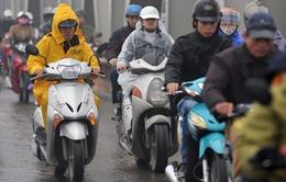 Không khí lạnh tràn về, Hà Nội có mưa