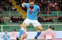Palermo 0-1 Napoli: Chiến thắng tối thiểu, hiệu quả tối đa