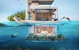Căn hộ độc đáo nửa chìm nửa nổi ở Dubai