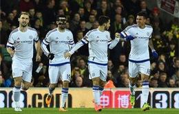 Vòng 28 Ngoại Hạng Anh: Vượt qua Norwich, Chelsea kéo dài chuỗi bất bại