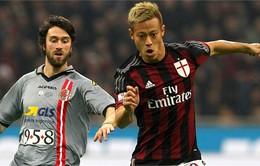 Thắng đậm Alessandria 5-0, Milan vào chung kết Coppa Italia