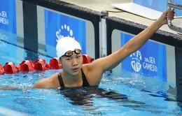 Vượt qua ngôi sao Ledecky, Ánh Viên giành HCB giải bơi Arena Pro Swim Series