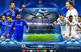 02h45 ngày 10/03, Chelsea – Paris Saint-Germain: Lợi thế sân nhà (Lượt về vòng 1/8 UEFA Champions League)