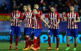 Atletico Madrid giành vé vào tứ kết sau loạt sút luân lưu kịch tính