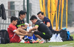 ĐTQG Việt Nam: Đình Tùng gia nhập danh sách chấn thương