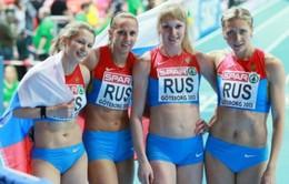 Điền kinh Nga tiếp tục dính scandal doping