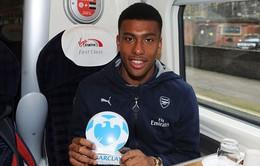 Arsenal tăng lương… 10 lần cho tài năng trẻ Alex Iwobi
