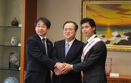 Công Phượng được làm 'Đại sứ giao lưu' ở Nhật Bản