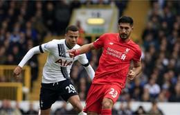 """Vòng 32 Ngoại Hạng Anh: Liverpool vs Tottenham: Thử thách cho """"Gà trống"""" (23h30 ngày 2/4 trực tiếp trên VTV6)"""